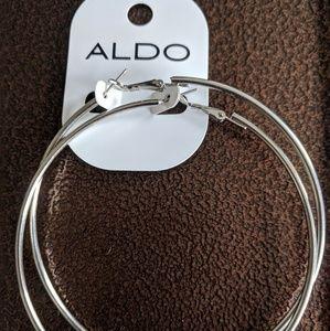 Large Also hoop earrings